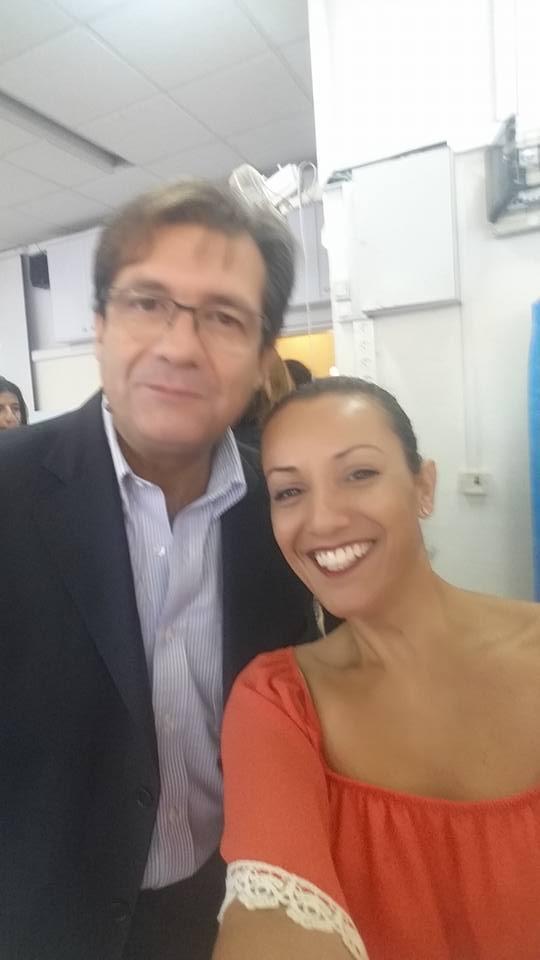 ביקור שגריר איטליה, רמת גן, 2016