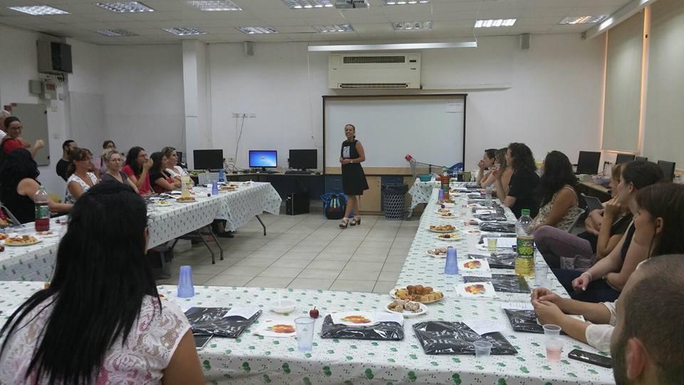 סדנת בישול למורות עתיד, רמת גן, 2015