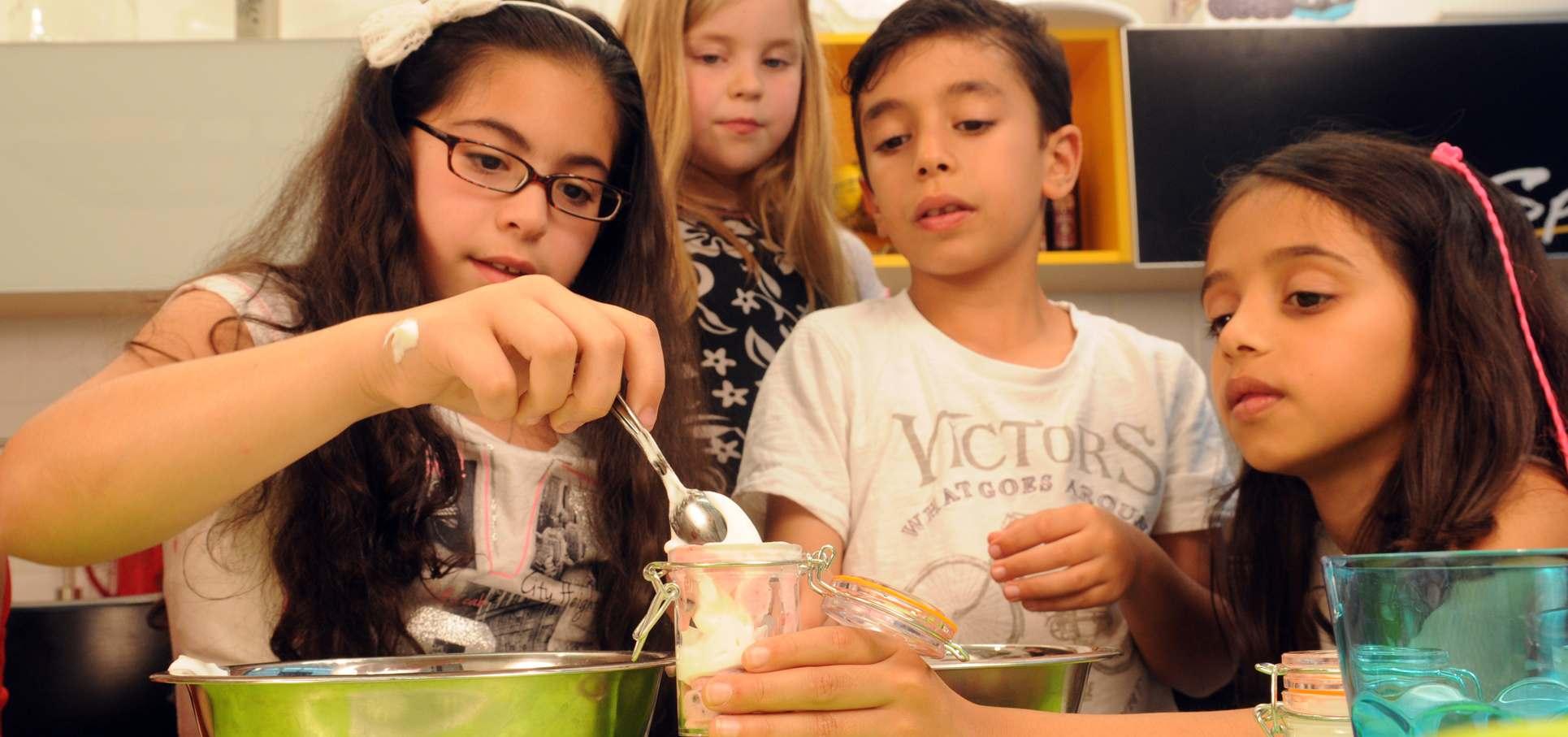 סדנאת בישול ליום הולדת לילדים