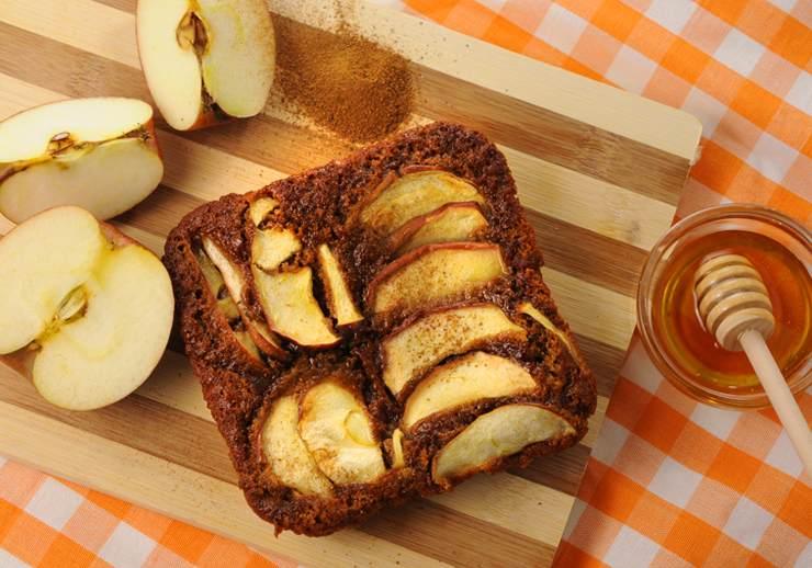 עוגת תפוח בדבש