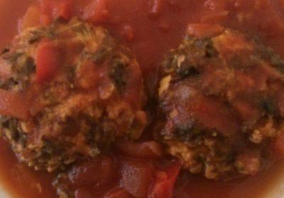 קציצות טופו ברוטב עגבניות
