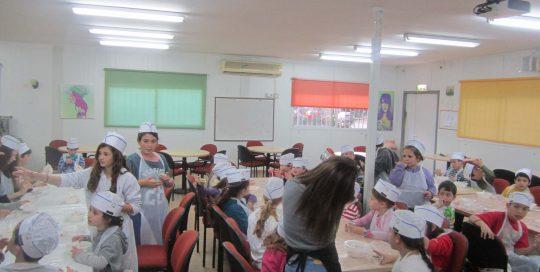 סדנת אפייה לטו בשבט, גבעת השלושה, 2014