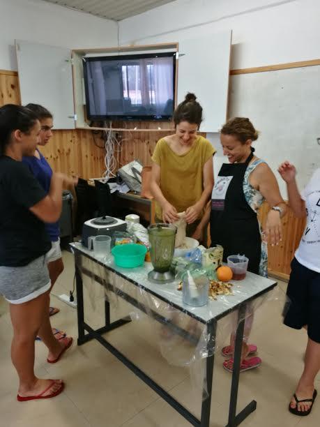 סדנת בישול בריא- מתחילים! מחנה כדורסל בנות- BC