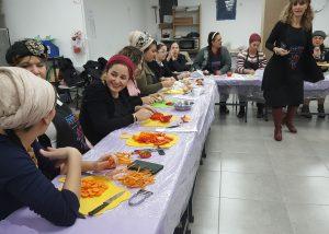 צוות המורות בסדנת הבישול