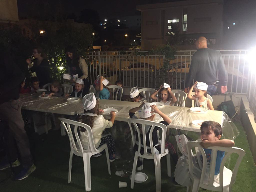 שבוע החינוך מגמת גסטרונומייה בית ספר הלל, רמת גן, 2016