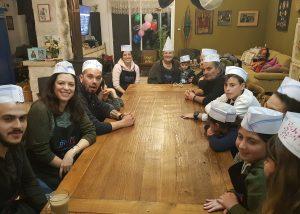 סדנת בישול למשפחה לכבוד יום הולדת 60 לסבתא חנה