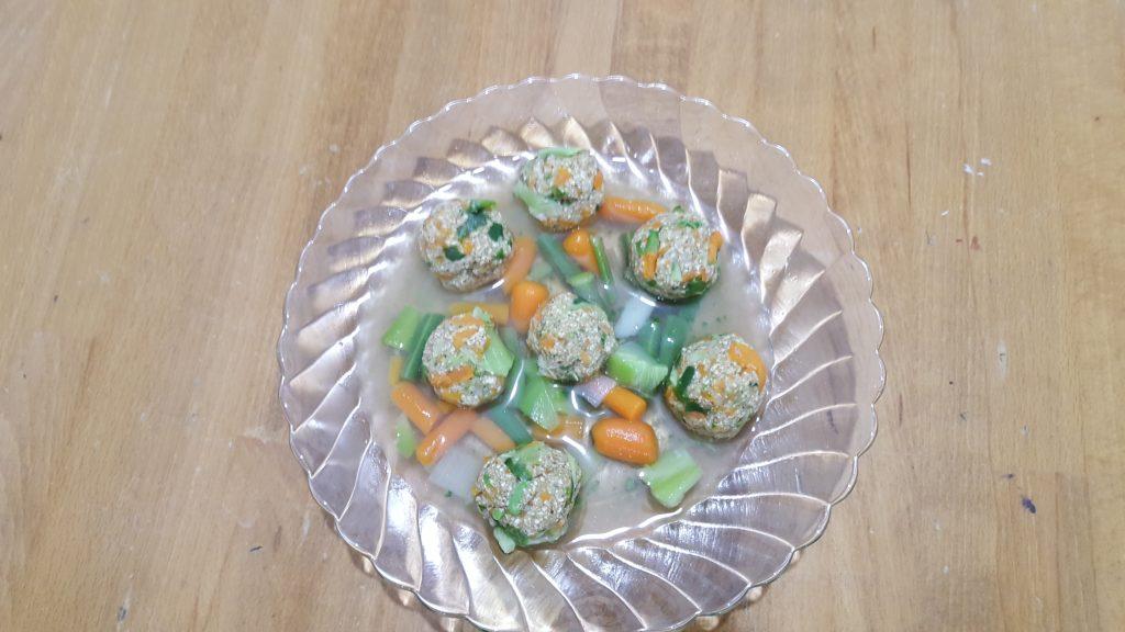 קניידלעאך ירקות