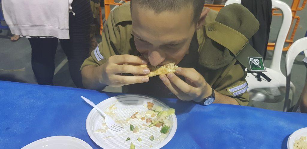סדנת בישול ישראלית נוער, נהריה, 2018